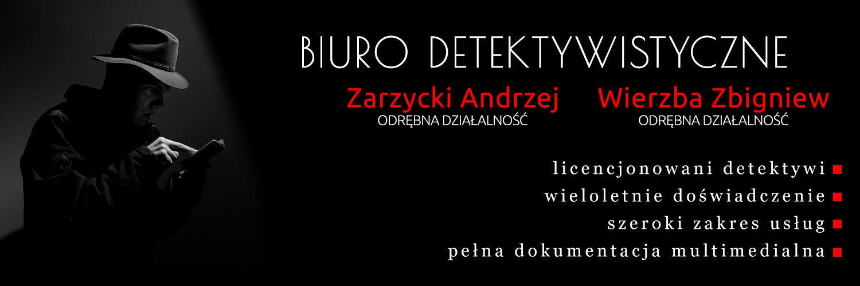 Biuro detektywistyczne Zarzycki & Wierzba mieszczące się w Bytomiu przy ulicy Wrocławska 94